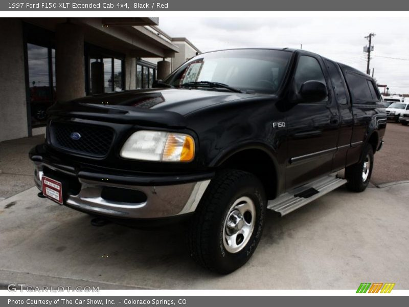 1997 ford f150 xlt extended cab 4x4 in black photo no. Black Bedroom Furniture Sets. Home Design Ideas