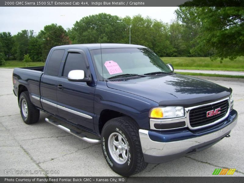 2000 gmc sierra 1500 slt extended cab 4x4 in indigo blue metallic photo no 2799204. Black Bedroom Furniture Sets. Home Design Ideas