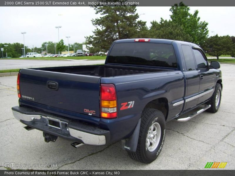 2000 gmc sierra 1500 slt extended cab 4x4 in indigo blue metallic photo no 2799234. Black Bedroom Furniture Sets. Home Design Ideas