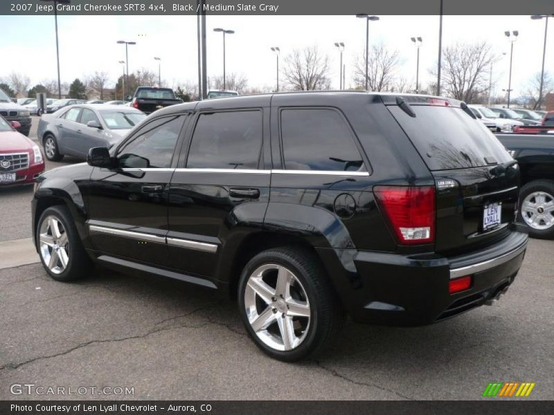black medium slate gray 2007 jeep grand cherokee srt8 4x4 photo 4. Cars Review. Best American Auto & Cars Review