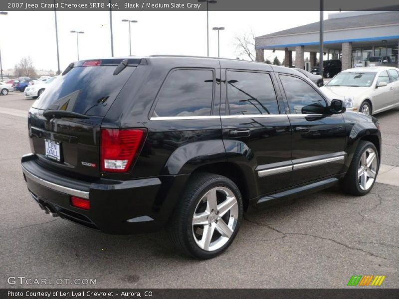 black medium slate gray 2007 jeep grand cherokee srt8 4x4 photo 6. Cars Review. Best American Auto & Cars Review