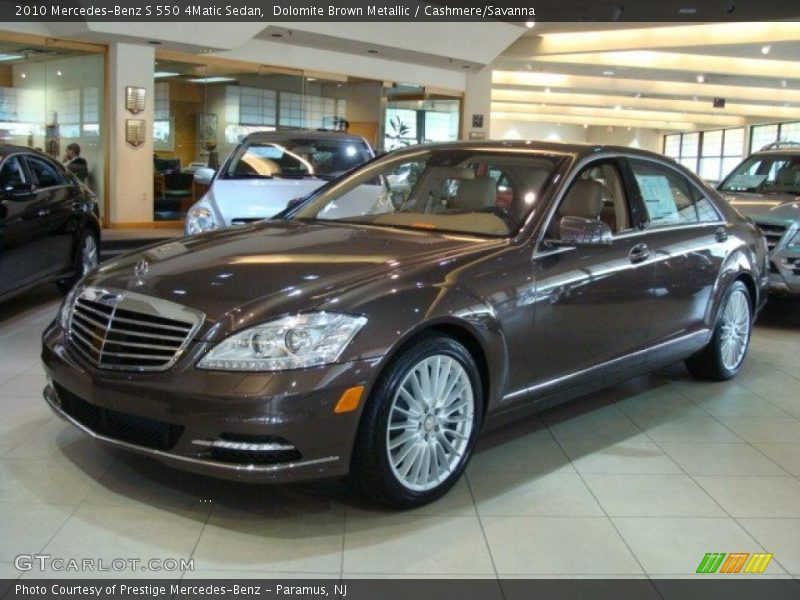 2010 mercedes benz s 550 4matic sedan in dolomite brown for Mercedes benz genuine polar white touch up paint code 149