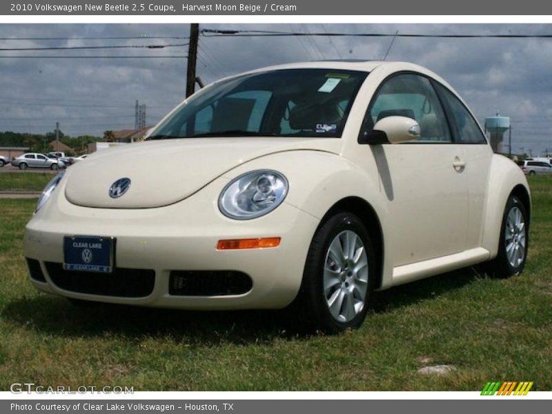2010 Volkswagen New Beetle 2 5 Coupe In Harvest Moon Beige