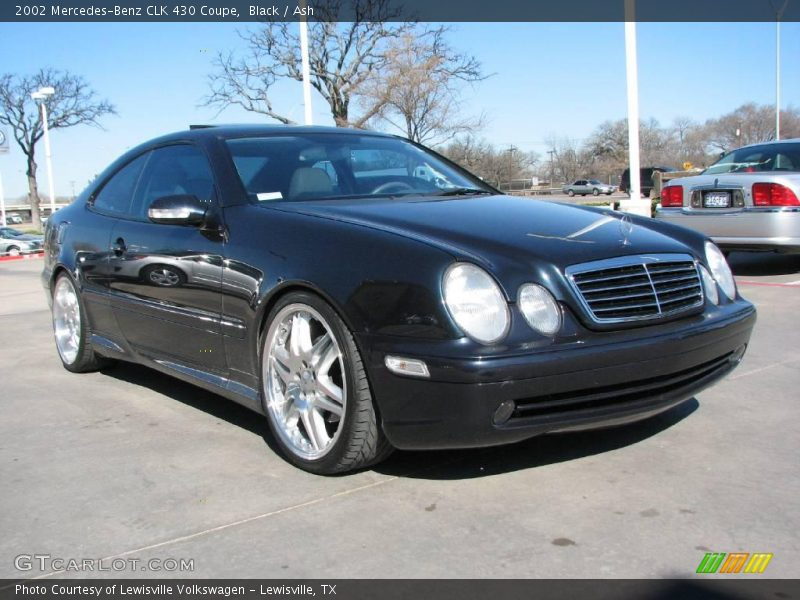 2002 mercedes benz clk 430 coupe in black photo no 2821161. Black Bedroom Furniture Sets. Home Design Ideas