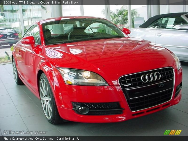 2008 Audi Tt 3 2 Quattro Coupe In Brilliant Red Photo No