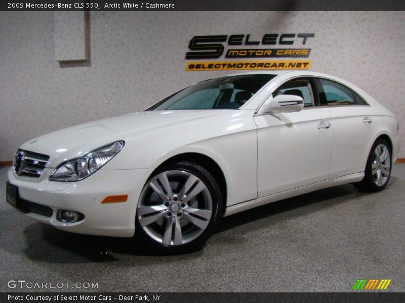 2009 mercedes benz cls 550 in arctic white photo no. Black Bedroom Furniture Sets. Home Design Ideas