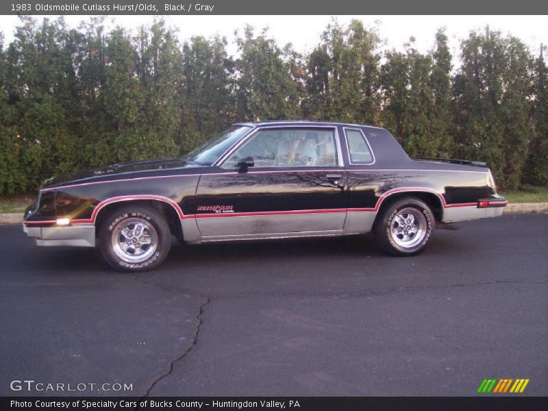 Black / Gray 1983 Oldsmobile Cutlass Hurst/Olds