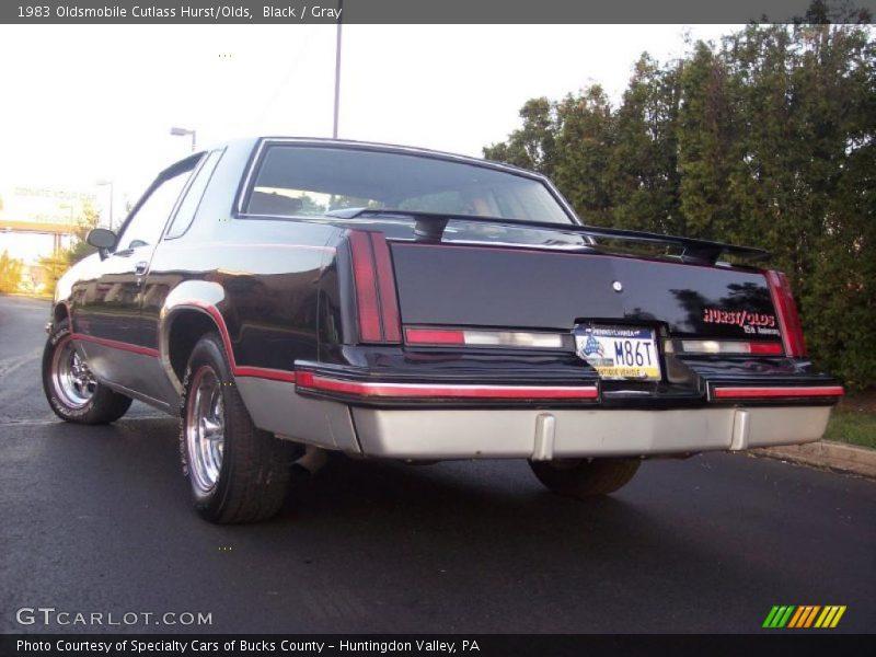 Black / Gray 1983 Oldsmobile Cutlass Hurst/Olds