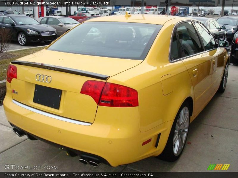 2008 Audi S4 4 2 Quattro Sedan In Imola Yellow Photo No