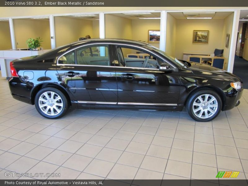 2010 volvo s80 3 2 in ember black metallic photo no. Black Bedroom Furniture Sets. Home Design Ideas
