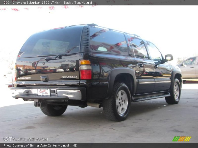 2004 chevrolet suburban 1500 lt 4x4 in black photo no. Black Bedroom Furniture Sets. Home Design Ideas