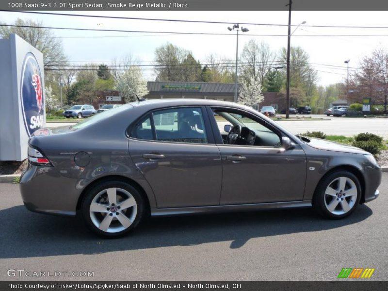 2008 saab 9 3 2 0t sport sedan in smoke beige metallic. Black Bedroom Furniture Sets. Home Design Ideas