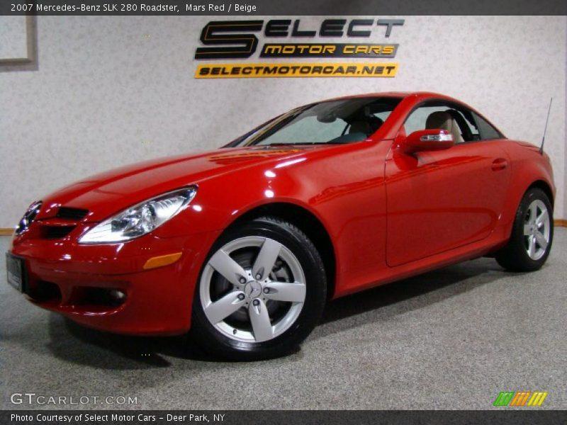 2007 mercedes benz slk 280 roadster in mars red photo no for 2007 mercedes benz slk