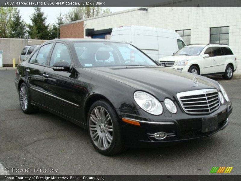 2007 mercedes benz e 350 4matic sedan in black photo no for Mercedes benz e350 black