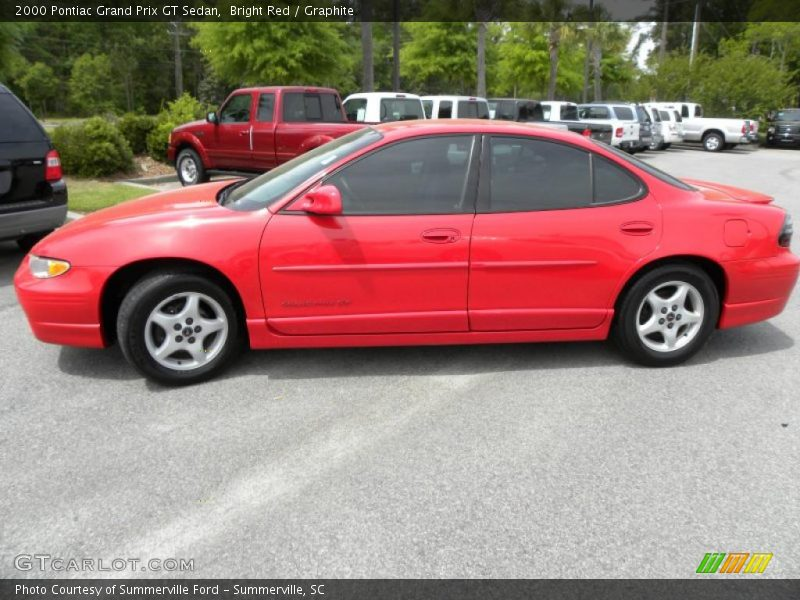 2000 pontiac grand prix gt sedan in bright red photo no 28763964. Black Bedroom Furniture Sets. Home Design Ideas