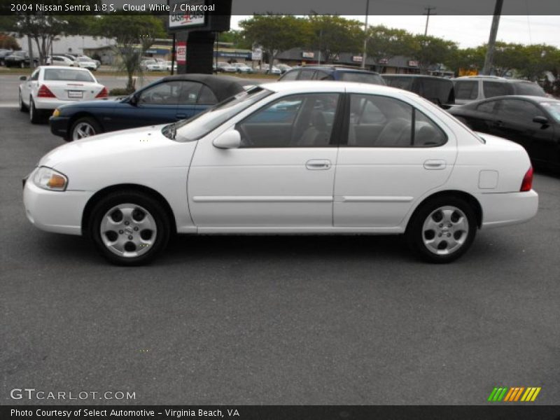 2004 Nissan Sentra 18 S In Cloud White Photo No 28893617