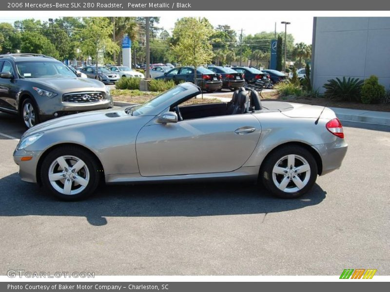 2006 mercedes benz slk 280 roadster in pewter metallic. Black Bedroom Furniture Sets. Home Design Ideas