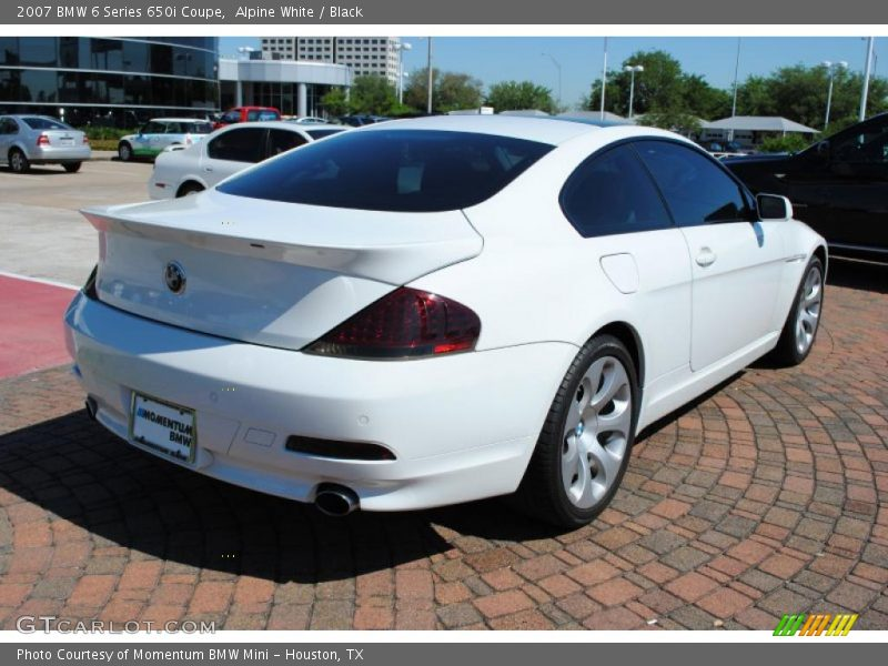 2007 bmw 6 series 650i coupe in alpine white photo no 29113430. Black Bedroom Furniture Sets. Home Design Ideas