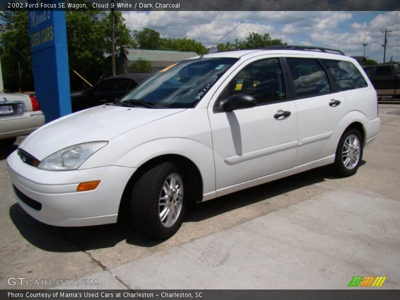 2002 ford focus se wagon in cloud 9 white photo no. Black Bedroom Furniture Sets. Home Design Ideas