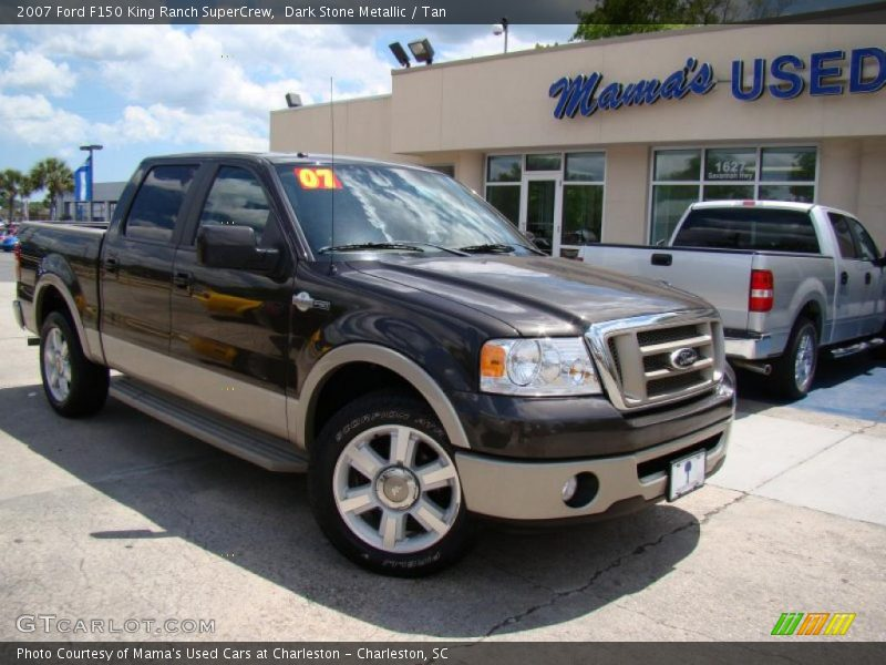 2007 ford f150 king ranch supercrew in dark stone metallic for G stone motors used cars