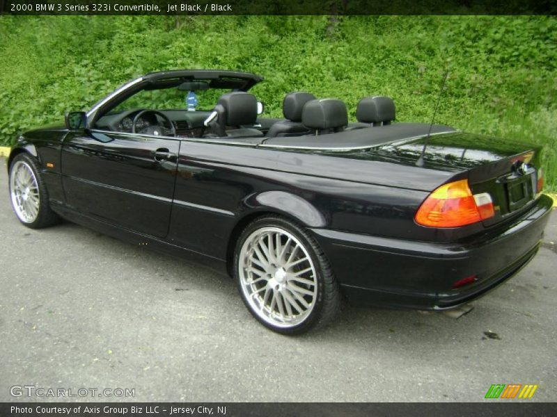 2000 bmw 3 series 323i convertible in jet black photo no. Black Bedroom Furniture Sets. Home Design Ideas
