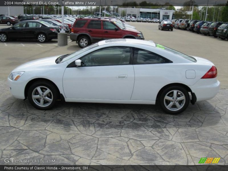 2004 honda accord ex l coupe in taffeta white photo no. Black Bedroom Furniture Sets. Home Design Ideas