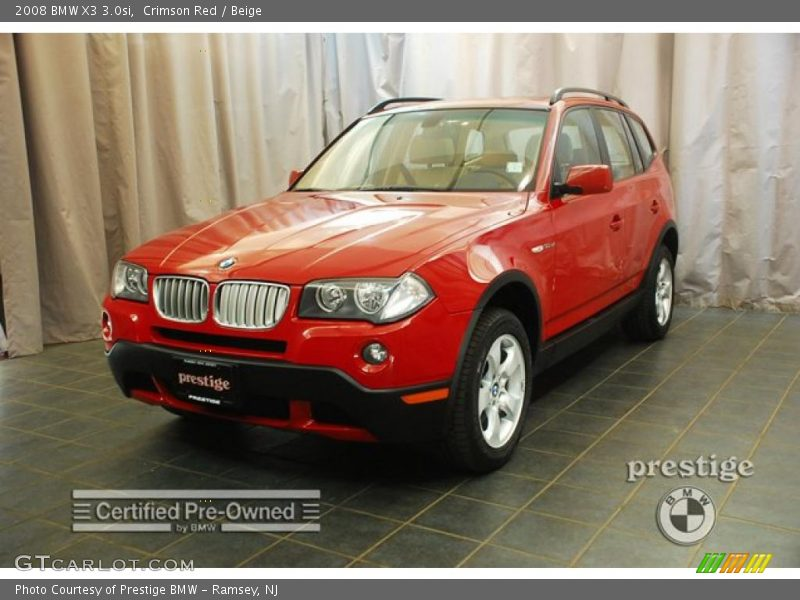 2008 bmw x3 in crimson red photo no 29374536. Black Bedroom Furniture Sets. Home Design Ideas