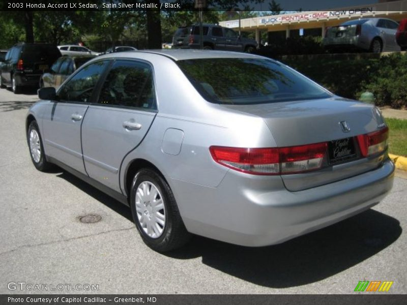 2003 honda accord lx sedan in satin silver metallic photo. Black Bedroom Furniture Sets. Home Design Ideas