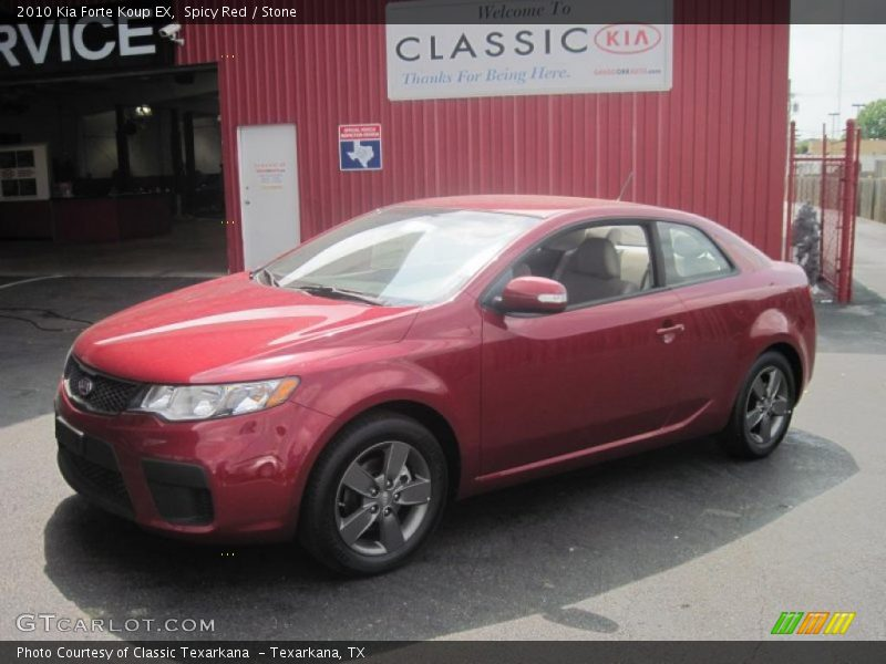 2010 kia forte koup ex in spicy red photo no 29478067 for G stone motors used cars