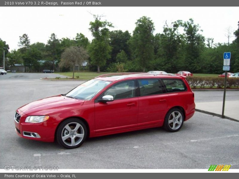 2010 Volvo V70 3.2 R-Design in Passion Red Photo No. 29478831 ...