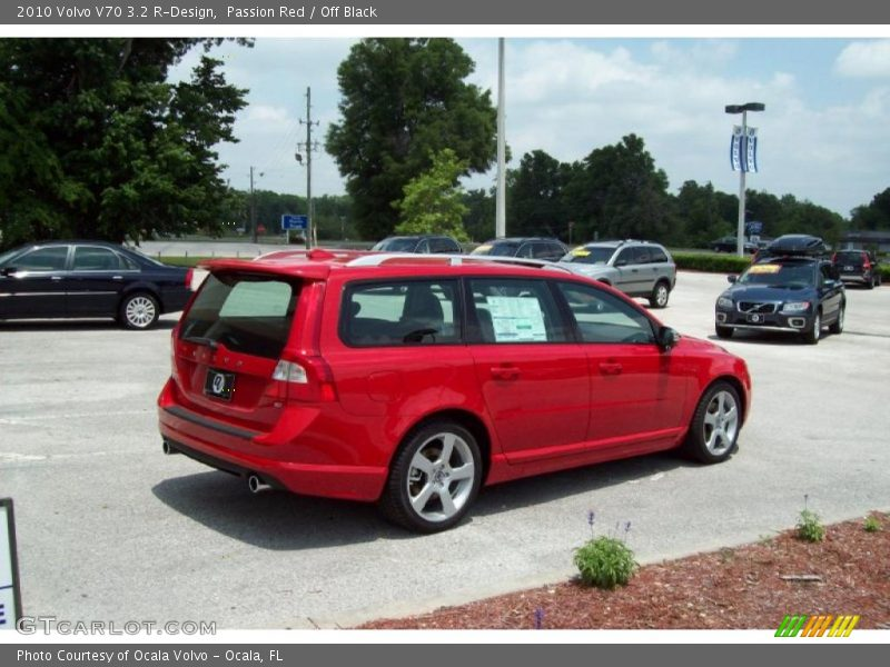 2010 Volvo V70 3.2 R-Design in Passion Red Photo No. 29478895 ...
