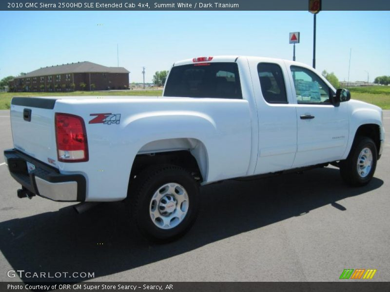 2010 gmc sierra 2500hd sle extended cab 4x4 in summit. Black Bedroom Furniture Sets. Home Design Ideas