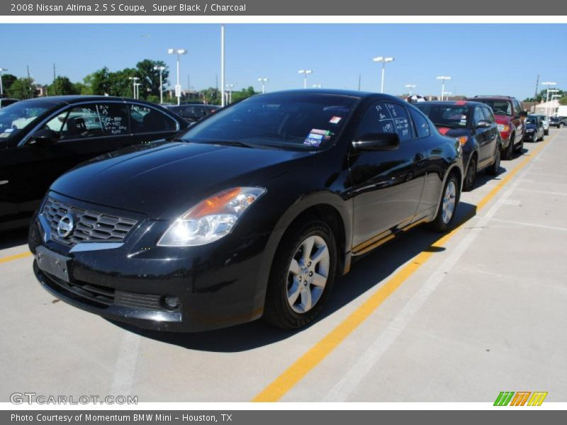 2008 nissan altima 2 5 s coupe in super black photo no 29682280. Black Bedroom Furniture Sets. Home Design Ideas