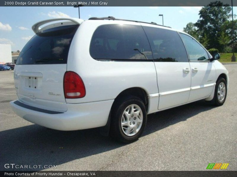 2000 dodge grand caravan sport in bright white photo no 29701924. Cars Review. Best American Auto & Cars Review