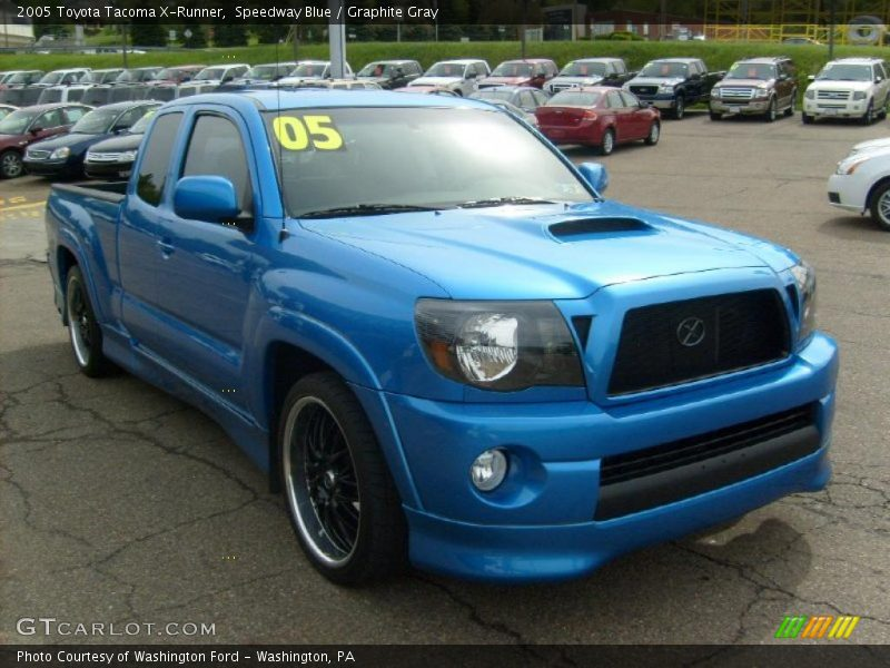 2005 toyota tacoma x runner in speedway blue photo no 29744098. Black Bedroom Furniture Sets. Home Design Ideas