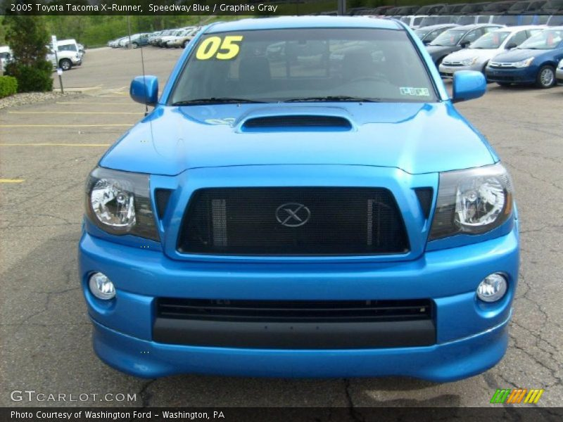 2005 toyota tacoma x runner in speedway blue photo no 29744106. Black Bedroom Furniture Sets. Home Design Ideas