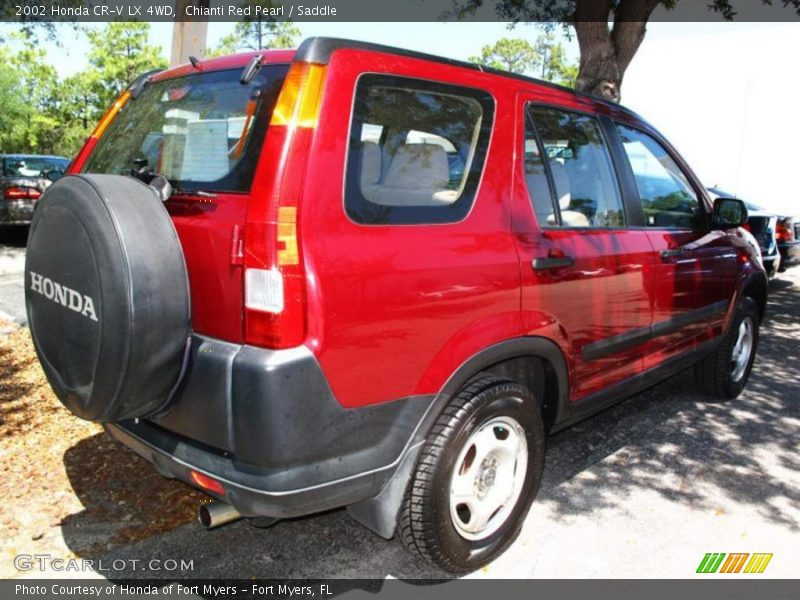 2002 honda cr v lx 4wd in chianti red pearl photo no 29781326. Black Bedroom Furniture Sets. Home Design Ideas