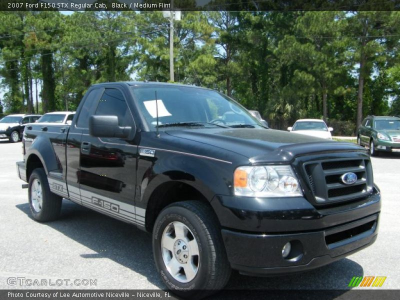 2007 ford f150 stx regular cab in black photo no 30001524. Black Bedroom Furniture Sets. Home Design Ideas