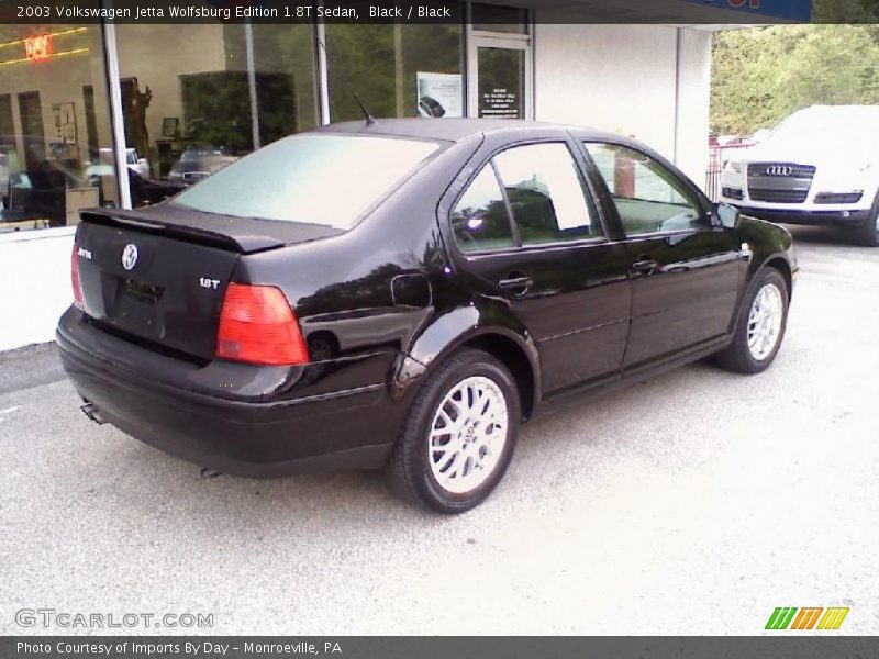 2003 volkswagen jetta wolfsburg edition 1 8t sedan in black photo no 30041358. Black Bedroom Furniture Sets. Home Design Ideas