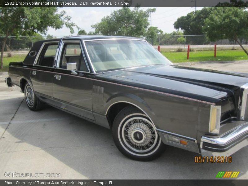 1982 lincoln continental mark vi sedan in dark pewter metallic photo no 30049206. Black Bedroom Furniture Sets. Home Design Ideas