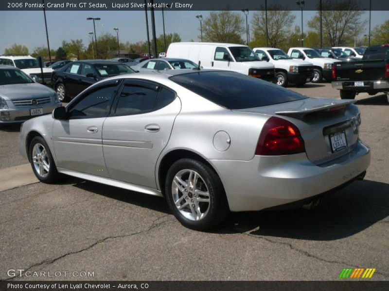 2006 pontiac grand prix gt sedan in liquid silver metallic. Black Bedroom Furniture Sets. Home Design Ideas