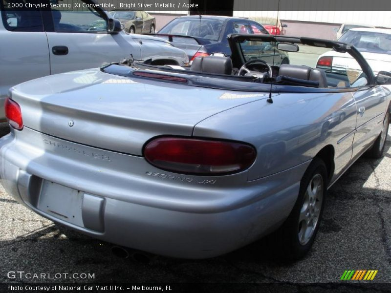 2000 chrysler sebring jxi convertible in bright silver. Black Bedroom Furniture Sets. Home Design Ideas
