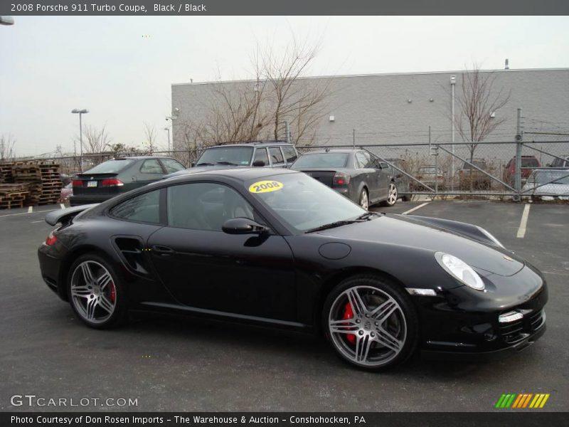 2008 Porsche 911 Turbo Coupe In Black Photo No 3015373