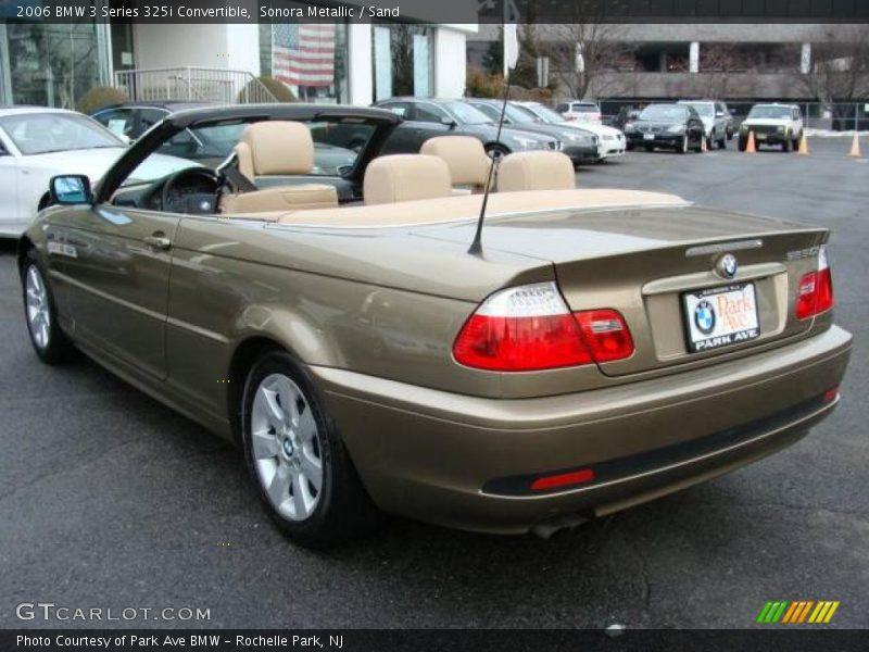 Sonora Metallic / Sand 2006 BMW 3 Series 325i Convertible