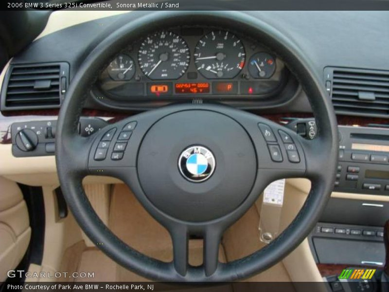 Sonora Metallic / Sand 2006 BMW 3 Series 325i Convertible