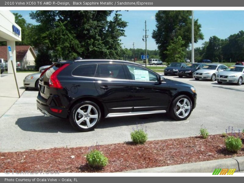 2010 volvo xc60 t6 awd r design in black sapphire metallic. Black Bedroom Furniture Sets. Home Design Ideas