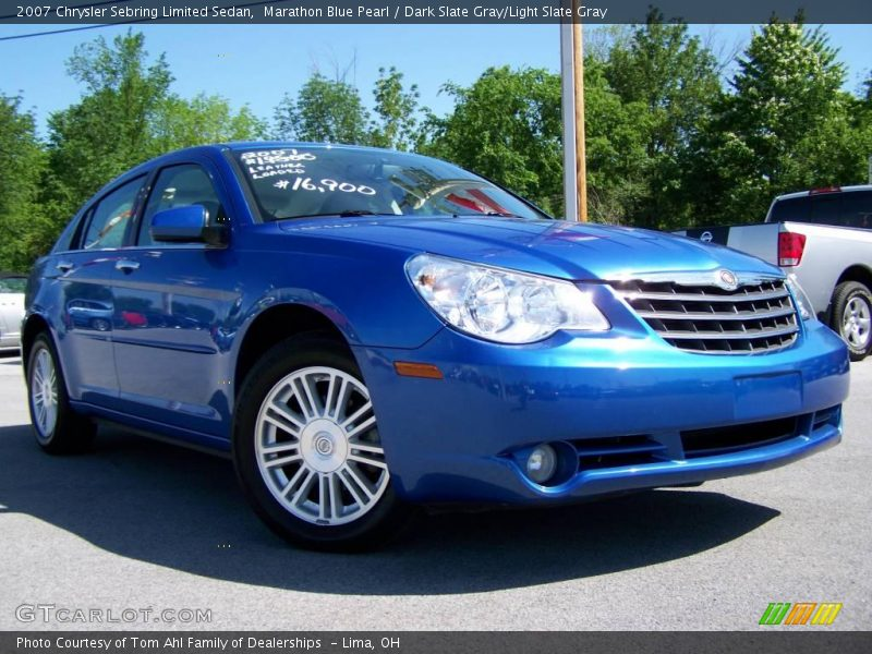 2007 chrysler sebring limited sedan in marathon blue pearl. Black Bedroom Furniture Sets. Home Design Ideas