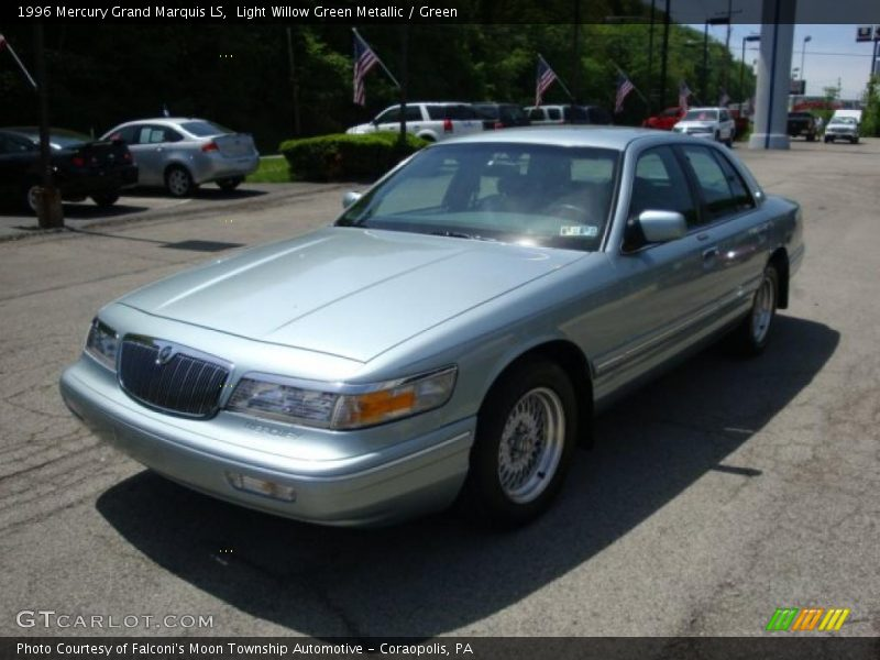 1996 mercury grand marquis ls in light willow green. Black Bedroom Furniture Sets. Home Design Ideas