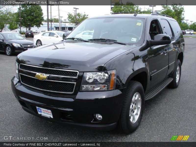 2009 chevrolet tahoe lt 4x4 in black photo no 30291009. Black Bedroom Furniture Sets. Home Design Ideas