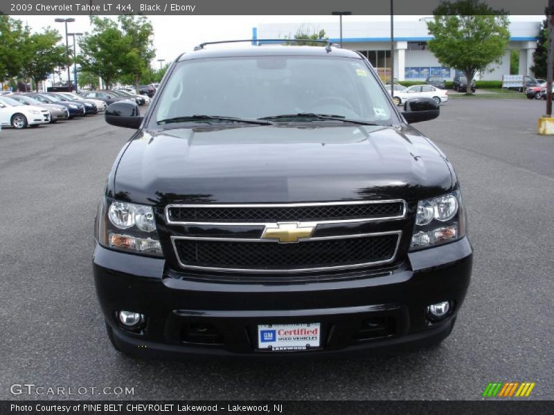 2009 chevrolet tahoe lt 4x4 in black photo no 30291029. Black Bedroom Furniture Sets. Home Design Ideas